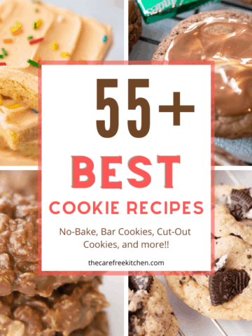best cookies with 4 images of cookies