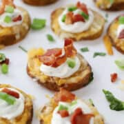 potato round appetizers