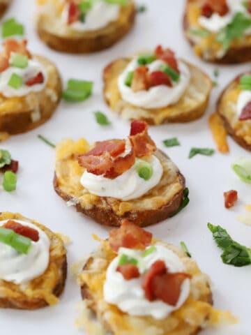 potato round appetizers
