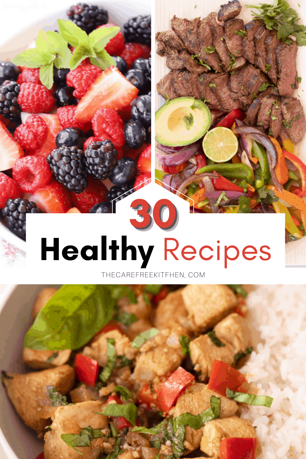 A collection of healthy recipes