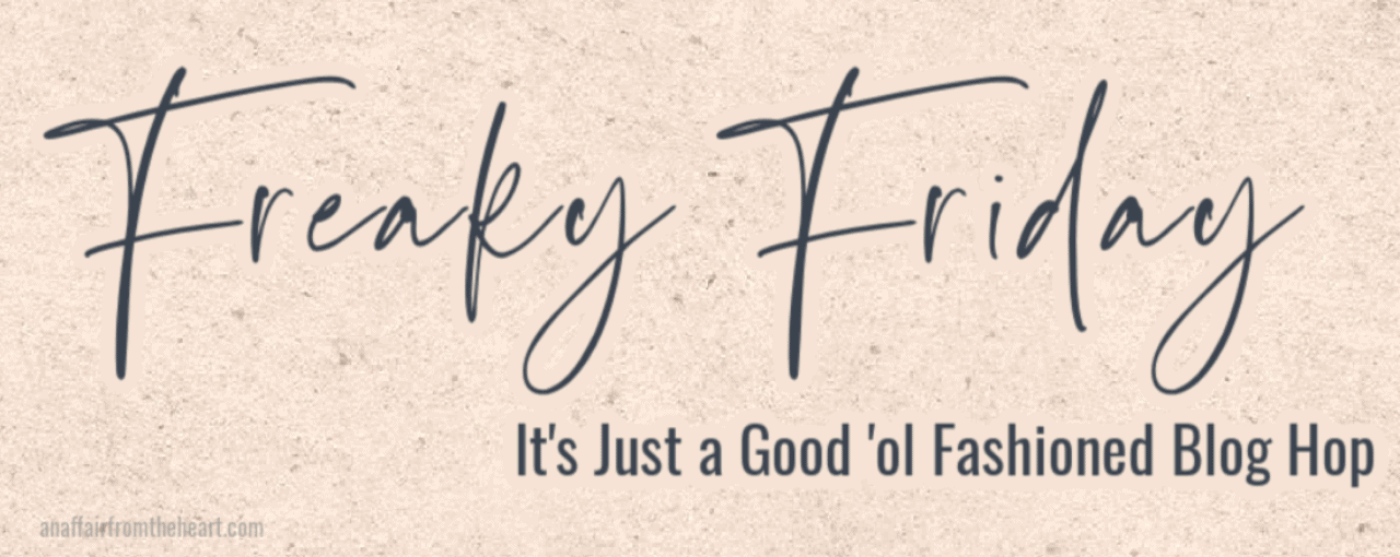 banner introducing Freaky Friday blog hop