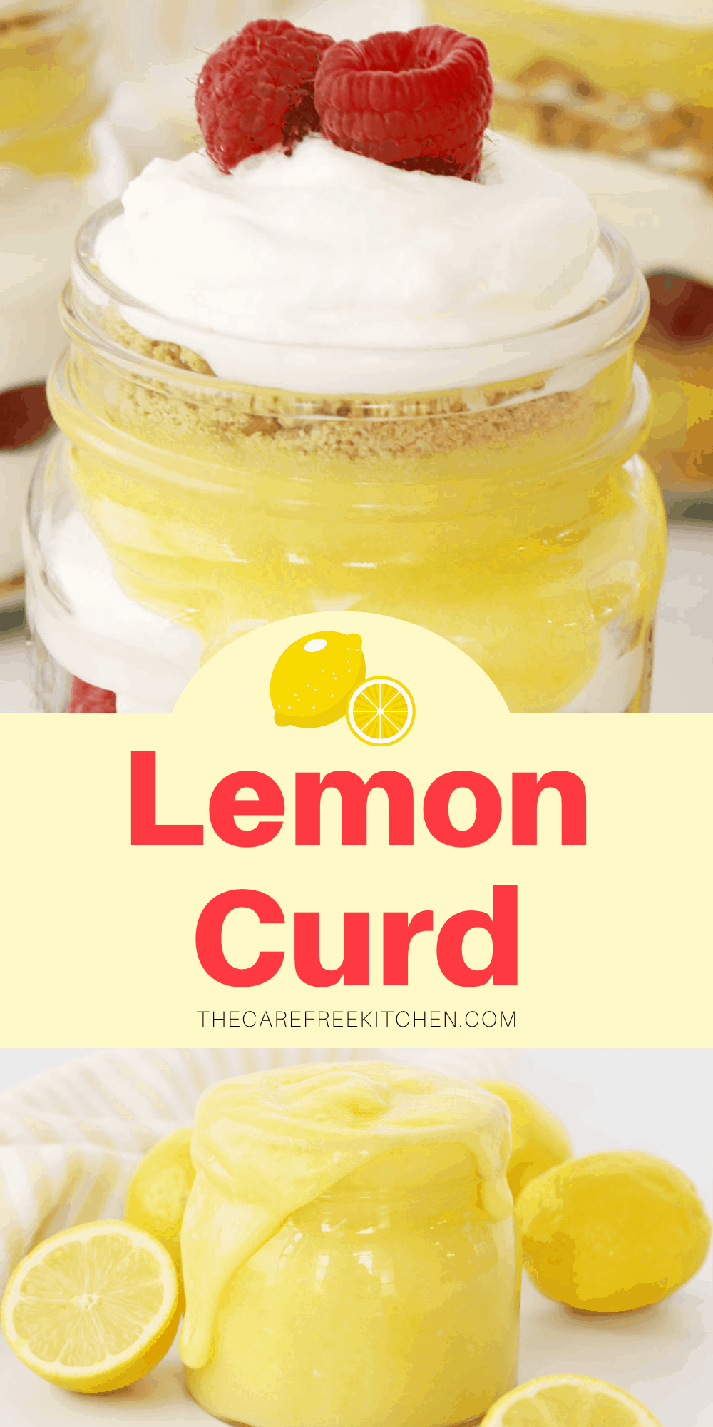 Pinterest pin for Lemon Curd.
