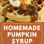 Pinterest pin for pumpkin syrup