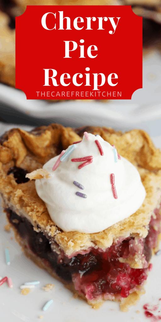 Pinterest pin for Cherry Pie.