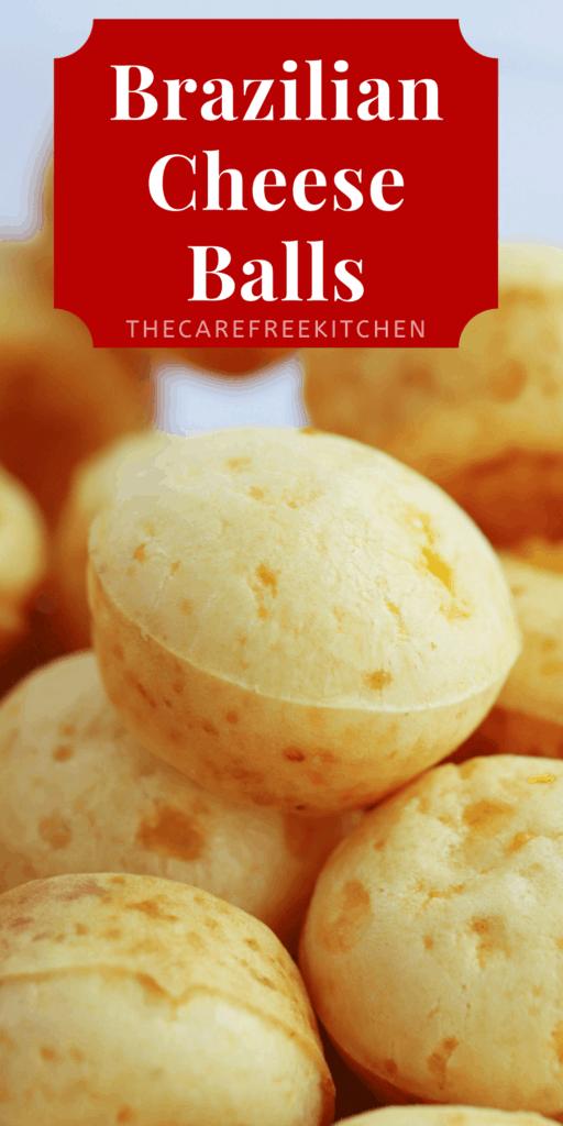 Brazilian Cheese ball Pinterest pin